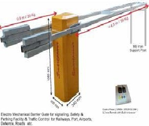 BARRIER GATE -Model - SP BB 4.5M 8S ANTI CRASH