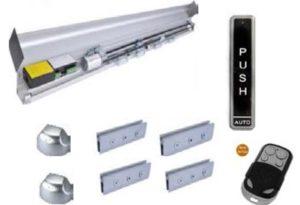 Automatic Remote Glass Sensor Door