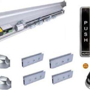 Automatic Remote Glass Sensor Door 2.1 Mt